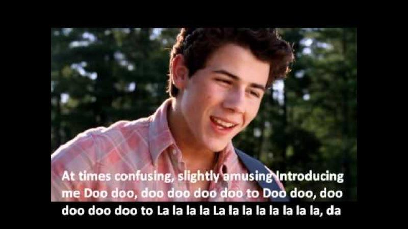 Introducing Me - Nick Jonas (Official video and lyrics)