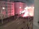 Фанаты Зенита идут на матч