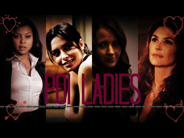 PoI Ladies || SM || Person of Interest