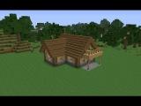 Как построить (Большой) стартовый дом для выживания в Майнкрафт