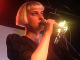 Molly Nilsson - In Real Life (Live @ London Fields Brewhouse, London, 100813)