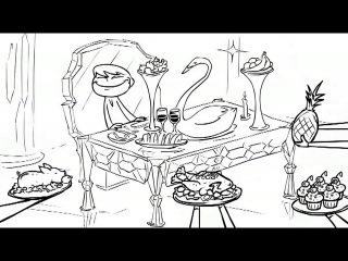 Три богатыря и Снежная Королева-Three Russian Bogaturs & Snow Queen (animation)