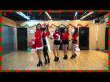 EXID - Up & Down (Dance Practice) (X-mas Ver.)