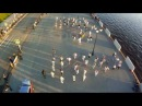 Флешмоб Бурановские бабушки. Flash mob buranovskie babushki.