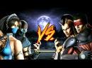 Kitana, Sub-Zero vs Kenshi, Sheeva (HARD)