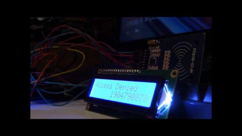 Вход в Windows с помощью NFC/RFID на Arduino