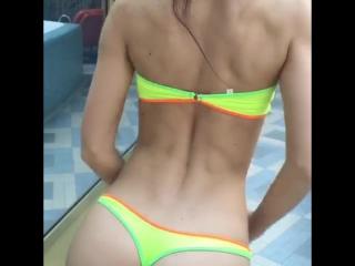 New model bikini