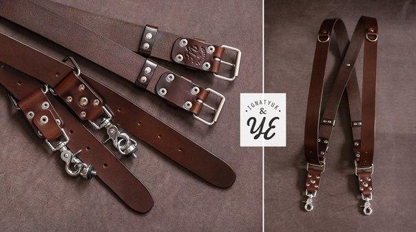 Разгрузочный кожаный ремень купить мужской ремень для брюк