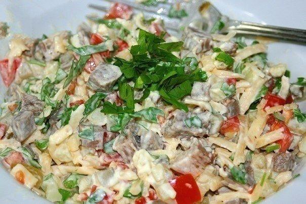 Самый вкусный салат с