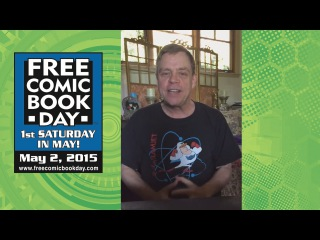 Mark Hamill Encourages You To Attend Free Comic Book Day