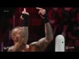 Randy Orton viciously destroys Seth Rollins (Full) - WWE Raw March 9 2015