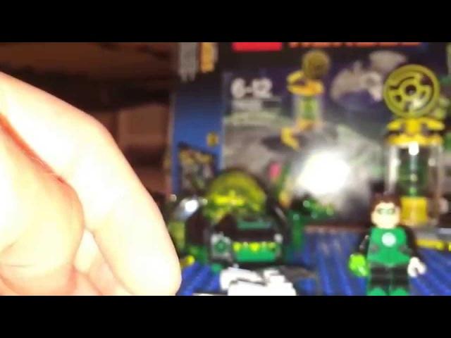 Обзор на Лего 76025 Зеленый Фонарь против Синестро