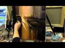 Живопись маслом для начинающих, уроки рисования в Москве, городской пейзаж маслом