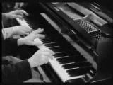 Marx Brothers Chico et Harpo duo comique au piano
