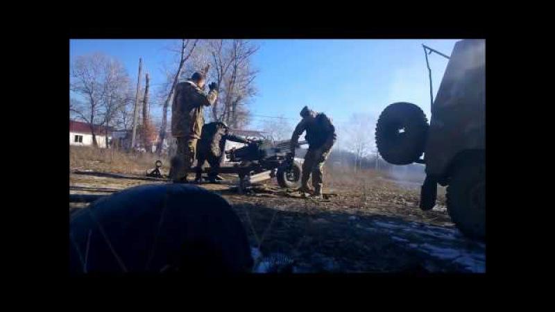 Уничтожение украинской ДРГ обстреливавшей пригороды Донецка из миномёта Василёк