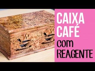Caixa Café - Pintura com Reagente Paper Color