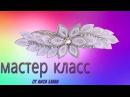 Праздничная заколка для волос своими руками Заколка автомат КАНЗАШИ
