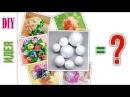 Чем заменить пенопластовые шары в рукоделии / What to use instead of the foam ball