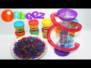 Орбиз светильник с разноцветными шариками. Orbeez Magic Kit Light-Up