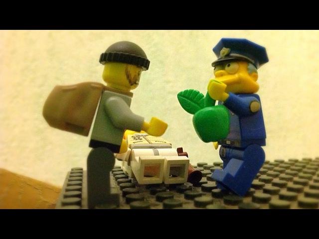 LEGO анимация: приключения Stupy [грабители]