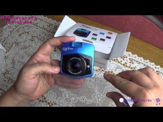 Мини видео регистратор на новом чипе Novatek 96650. Novatek 96650 mini car dvr camera.