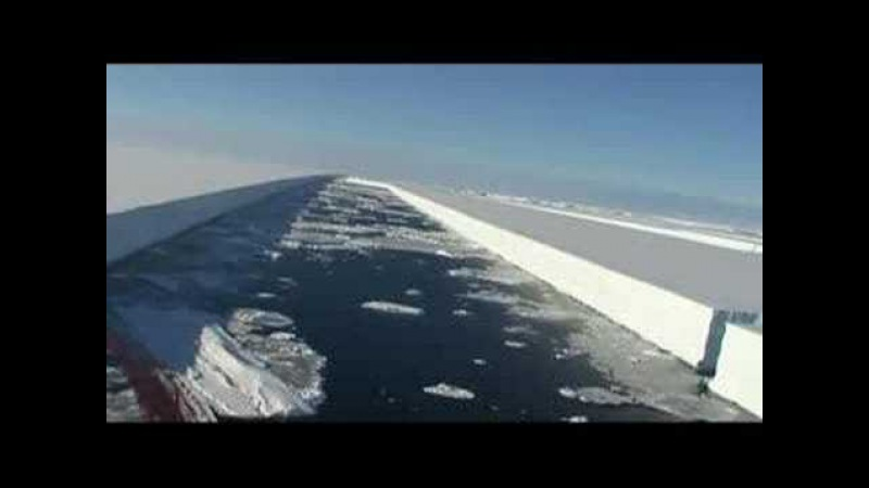 Antarctic Wilkins Ice Shelf Collapse