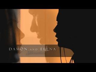 ● Damon & Elena   Silhouettes