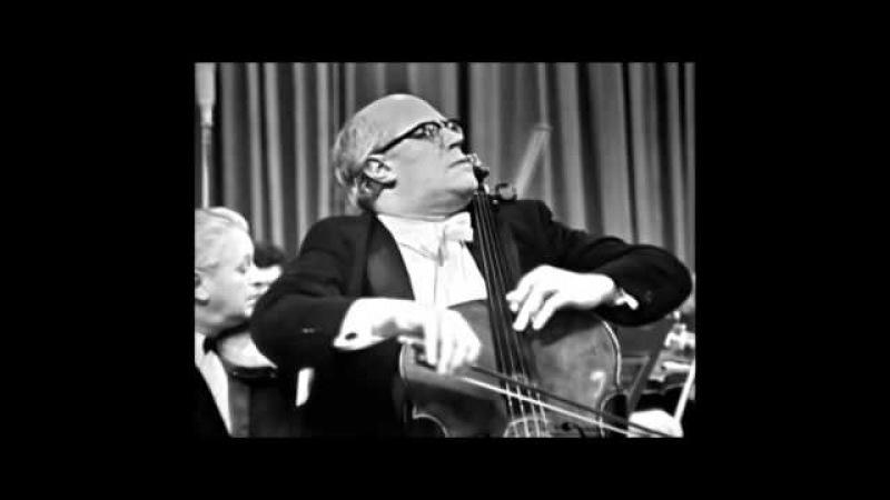 Khachaturian . Cello Concerto Rhapsody . Mstislav Rostropovich cello , Aram Khachaturian-conductor
