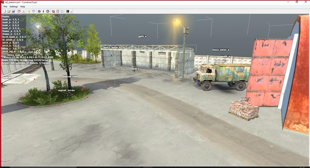 Ref_station для версии с редактором (03,12,14). для Spintires - Скриншот 2