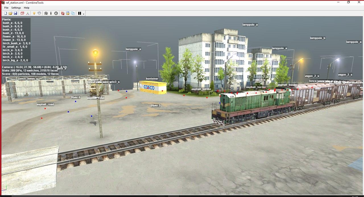 Ref_station для версии с редактором (03,12,14). для Spintires - Скриншот 3