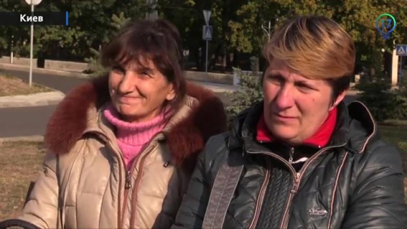 Матери пленных карателей 40 тербата Кривбас находятся в Донецке