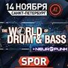 14.11 WORLD OF DRUM&BASS + NEUROPUNK @ A2 (СПБ)
