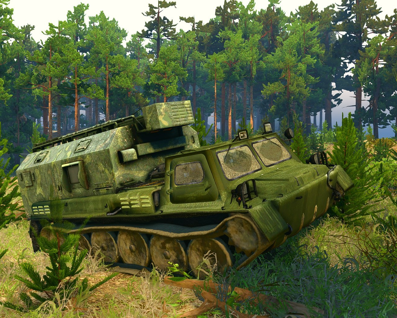 ГАЗ-71 для Spintires - Скриншот 3
