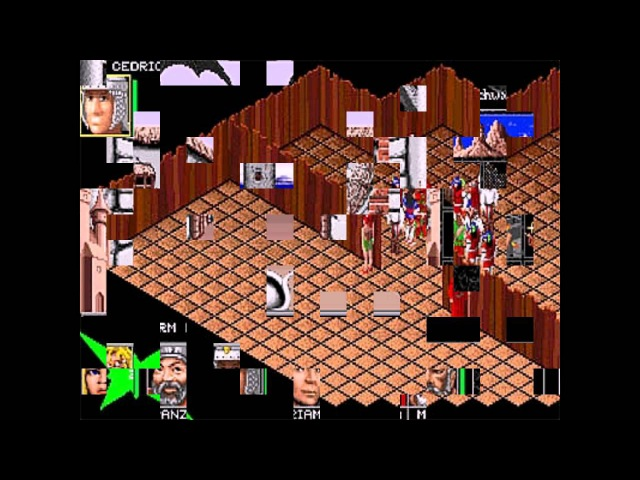 Realms of Arkania Blade of Destiny PC 1993 Gameplay