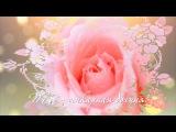 Шикарной - шикарные розы и музыка!