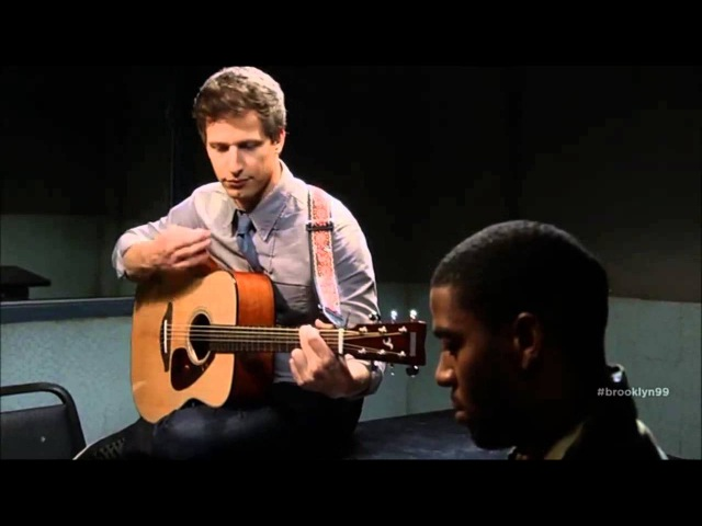 Jake Peralta Playing Guitar Andy Samberg Brooklyn Nine Nine