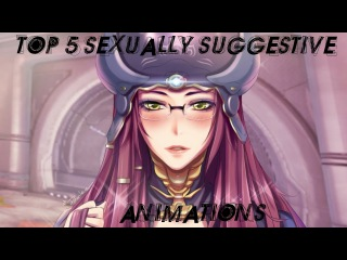 TOP 5: MOST SUGGESTIVE WARFRAME ANIMATIONS