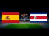 Espana - Costa Rica, 2:1, Friendly, 11.06.2015
