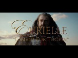 The Hobbit (Part 3) 'Lament For Thorin' by Eurielle (Inspired by J.R.R. Tolkien) - Lyric Video