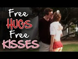 Free Hugs, Free Kisses! (Kissing Prank)