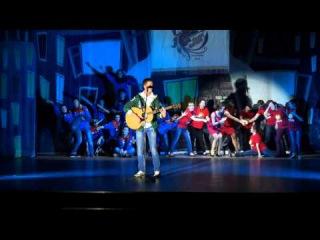 Концерт лучших номеров  творческого фестиваля студенческих отрядов СибФО