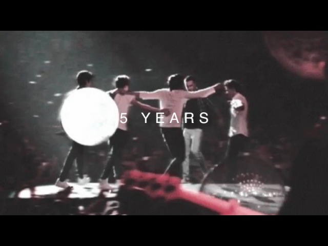 One direction five years