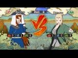 Мей Теруми: пятая мизукаге vs Цунаде: пятая хокаге [ игра - наруто шторм 3 ]