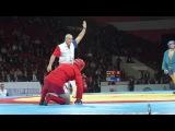 Жесткий нокаут на чемпионате мира по боевому самбо 2013