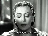 Zarah Leander - Sag mir nie wieder je t'aime (English subtitles)