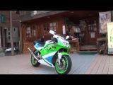 ヨシムラサウンドを聞け K-RAS ZXR750R ZXR400R ZXR250 Kawasaki KIS-ARM YOSHIMURA RACINGを響かせ 究&#26997