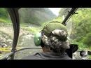 Мир Приключений - Реюньон. Экстремальный полёт на вертолёте. Extreme helicopter flight. Reunion.