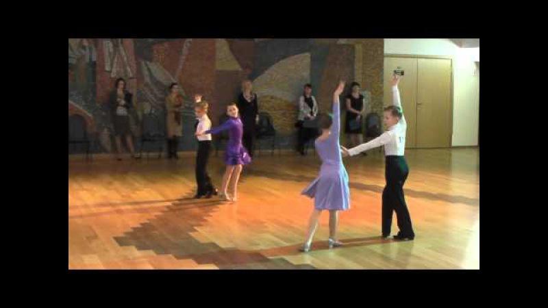 Бальные танцы, Класс Е, дети 2, Реутов мир танца