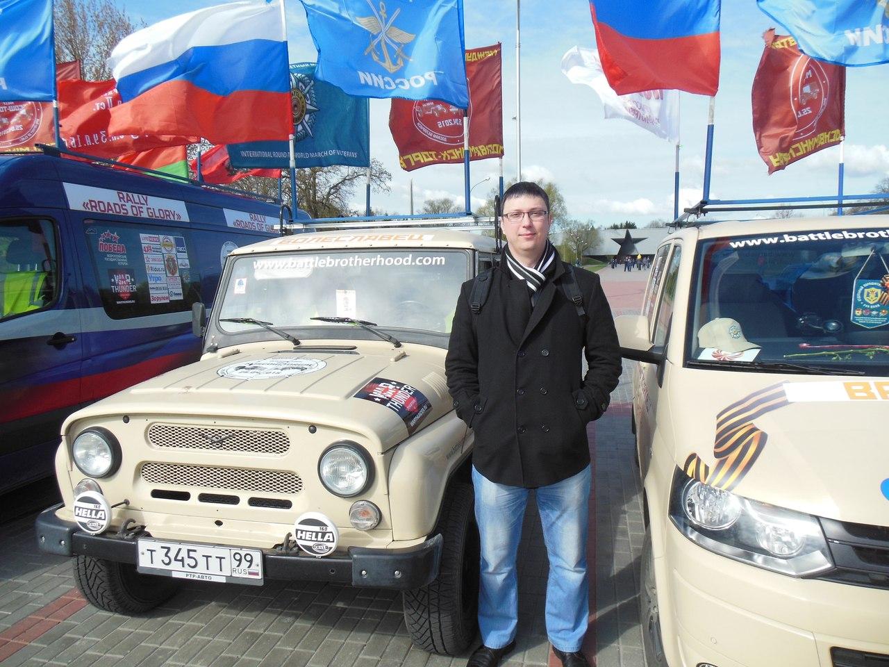 Автопробег «Дорогами славы» побывал в Брестской крепости