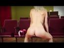 Голый Тверк - Блондинка исполняет Twerking. (TV. WoodRocket)